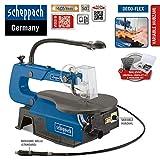 SCHEPPACH SET DECO-FLEX Dekupiersäge mit Werkzeug-Set und 5x12 Ersatzblätter
